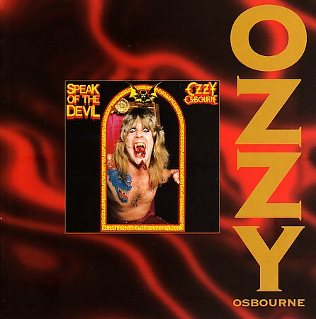First Additional product image for - OZZY OSBOURNE Speak Of The Devil (1995) (RMST) (EPIC RECORDS) (12 TRACKS) 320 Kbps MP3 ALBUM