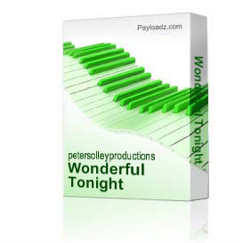 Wonderful Tonight | Music | Backing tracks