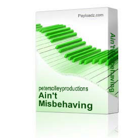 Ain't Misbehaving | Music | Backing tracks