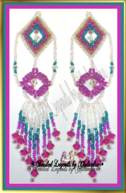 Diamond Cascade Earrings or Pendant | eBooks | Arts and Crafts