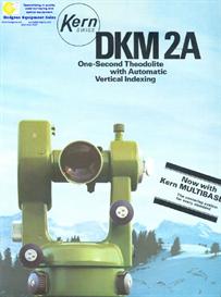kern dkm 2a theodolite brochure