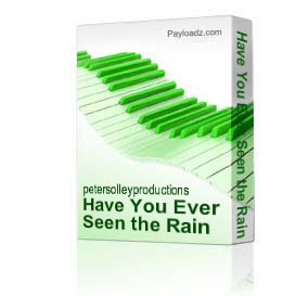 Have You Ever Seen the Rain | Music | Backing tracks