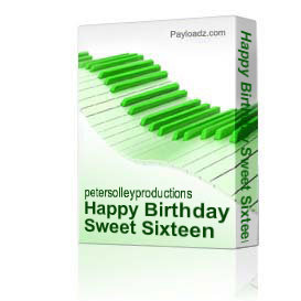 Happy Birthday Sweet Sixteen | Music | Backing tracks