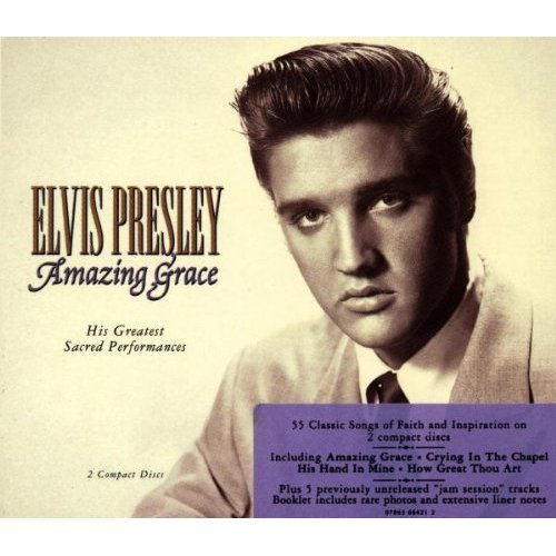 First Additional product image for - ELVIS PRESLEY Amazing Grace: His Greatest Sacred Performances (1994) (RCA RECORDS) (55 TRACKS) 320 Kbps MP3 ALBUM