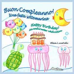 Buon Compleanno!  Una festa sottomarina. Happy Birthday!  An underwater celebration | eBooks | Children's eBooks