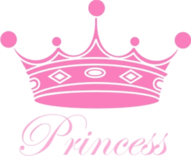Princess Crown machine embroidery file | Crafting | Sewing | Baby and Child