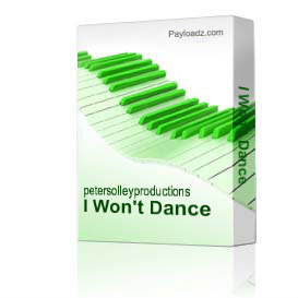 I Won't Dance | Music | Backing tracks