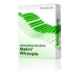 Makin' Whoopie | Music | Backing tracks