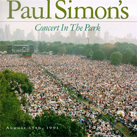 PAUL SIMON Concert In The Park (1991) (WARNER BROS. RECORDS) (23 TRACKS) 320 Kbps MP3 ALBUM | Music | Popular
