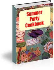 Summer Party Cookbook | eBooks | Food and Cooking