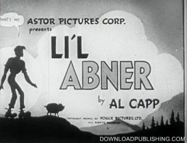 Lil Abner - Movie - 1940 Movie Comedy Comic Download .Mpg | Movies and Videos | Comedy