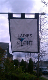 ladies night flag