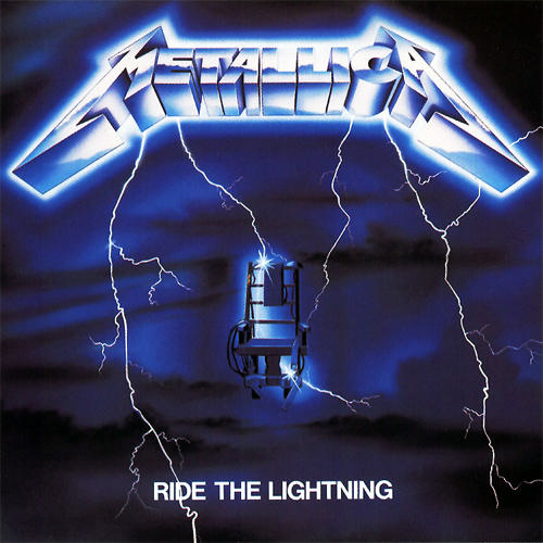 First Additional product image for - METALLICA Ride The Lightning (1984) (ELEKTRA) (8 TRACKS) 128 Kbps MP3 ALBUM