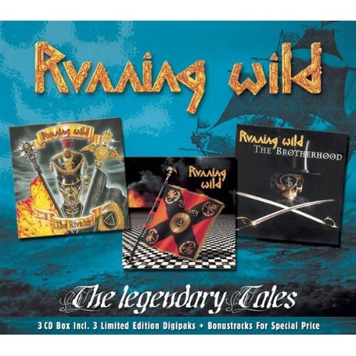 First Additional product image for - RUNNING WILD The Legendary Tales (2002) (GUN RECORDS) (IMPORT) (E.U.) (37 TRACKS) 320 Kbps MP3 ALBUM