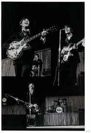 beatles at dodger stadium - august 28th 1966