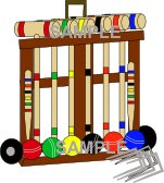 Croquet Set Clipart Download