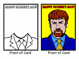 Father's Day Card | Documents and Forms | Other Forms