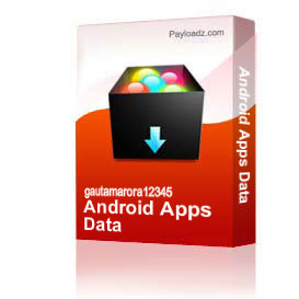 Android Apps Data
