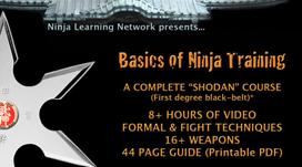 Basics of Ninja Training - Ninjutsu Bujinkan BLACK BELT COURSE JUST THE VIDEOS - LARGE MOVIES | Movies and Videos | Sports
