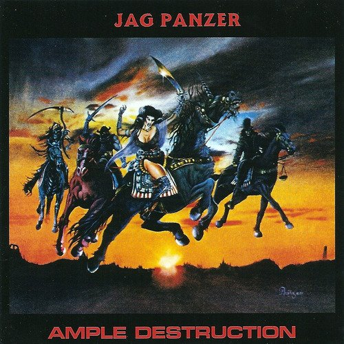 First Additional product image for - JAG PANZER Ample Destruction (1984) (NO POSER RECORDS) (4 EP BONUS TRACKS) 320 Kbps MP3 ALBUM