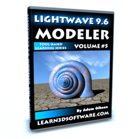 Lightwave 3D 9.6 Modeler Volume #5 | Movies and Videos | Educational