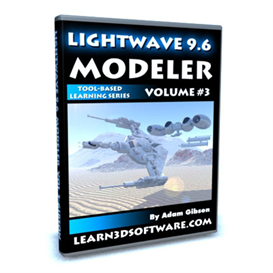 Lightwave 9.6 Modeler-Vol.#3 | Movies and Videos | Educational