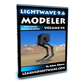 Lightwave 3D 9.6 Modeler Volume #6 | Movies and Videos | Educational