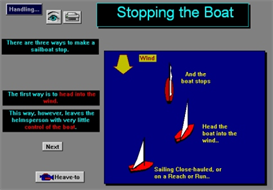 How to Stop a Sailboat; For PC and Mac | Software | Training