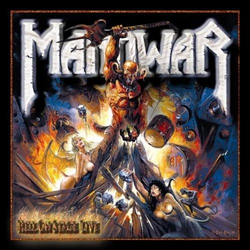 First Additional product image for - MANOWAR Hell On Stage Live (1999) (METAL BLADE RECORDS) (16 TRACKS) 320 Kbps MP3 ALBUM