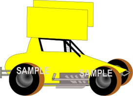 super sportsman yellow clipart download