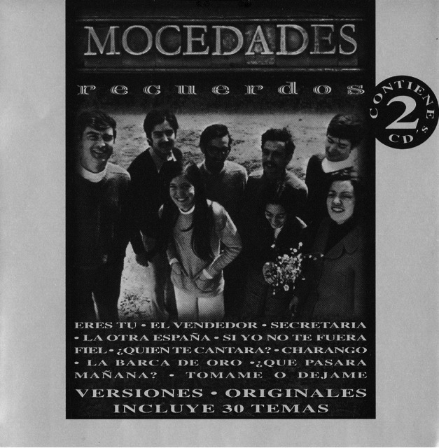 First Additional product image for - MOCEDADES Recuerdos (1998) (SONY U.S. LATIN) (30 TRACKS) 320 Kbps MP3 ALBUM