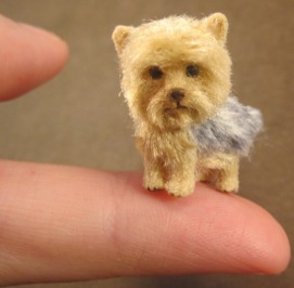 Miniature Yorkshire Terrier Sculpting tutorial by Aleah Klay | Other Files | Arts and Crafts