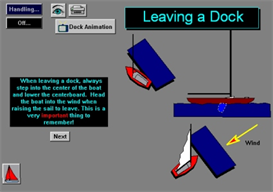 Leaving Docks and Moorings App for Blackberry | Software | Mobile