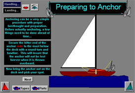 Landing at Docks, Moorings; Anchoring App for Blackberry | Software | Mobile