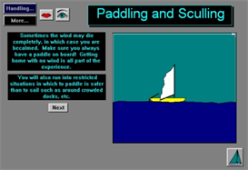 Moving your Boat When Becalmed App for Blackberry | Software | Mobile