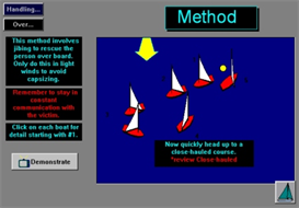 Person Overboard! App for Android | Software | Mobile