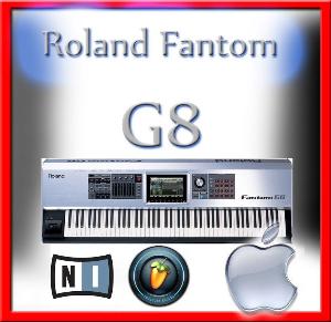 ROLAND FANTOM G8 sound Kit 5.GB | Music | Soundbanks