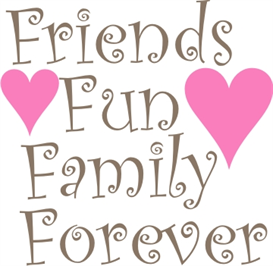 Friends,Fun,Family,Forever machine embroidery file & Cricut | Crafting | Paper Crafting | Home Decor