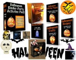 Halloween Graphics Mega Pack