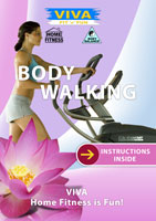 VIVA Fit n FUN BODY WALK Fitness Through Walking DVD Global Television Arcadia F | Movies and Videos | Other