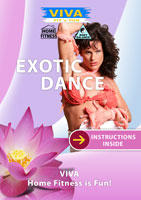 VIVA Fit n FUN EXOTIC DANCE Sensual Fitness Training DVD Global Television Arcad | Movies and Videos | Other