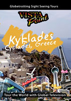 Vista Point KYKLADES Greece DVD Global Television Arcadia Films   Movies and Videos   Special Interest