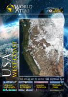 The World Atlas USA West Coast DVD Vision Films | Movies and Videos | Special Interest