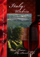 Wine Tours The Sweet Life Umbria DVD Vision Films | Movies and Videos | Special Interest