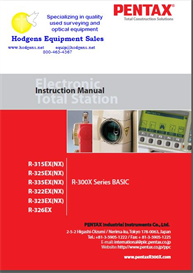 Pentax R-300 X  Basic Instruction Manual | Documents and Forms | Manuals