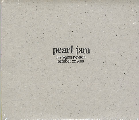 First Additional product image for - PEARL JAM Las Vegas, Nevada (LIVE) - 10/22/00 (2001) (EPIC RECORDS) (29 TRACKS) 320 Kbps MP3 ALBUM