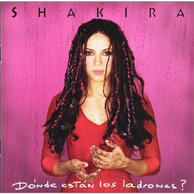 SHAKIRA Donde Estan Los Ladrones? (1998) (SONY MUSIC ENTERTAINMENT) (11 TRACKS) 320 Kbps MP3 ALBUM | Music | International
