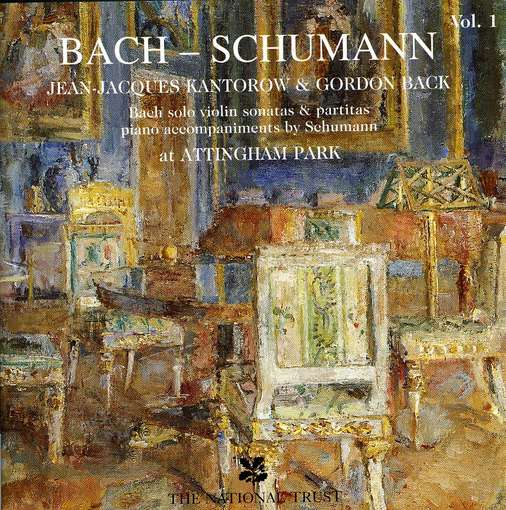 First Additional product image for - JEAN-JACQUES KANTOROW Bach-Schumann, Vol. 1 (1996) (DROFFIG RECORDINGS) (16 TRACKS) 320 Kbps MP3 ALBUM