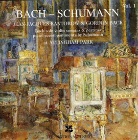 JEAN-JACQUES KANTOROW Bach-Schumann, Vol. 1 (1996) (DROFFIG RECORDINGS) (16 TRACKS) 320 Kbps MP3 ALBUM | Music | Classical