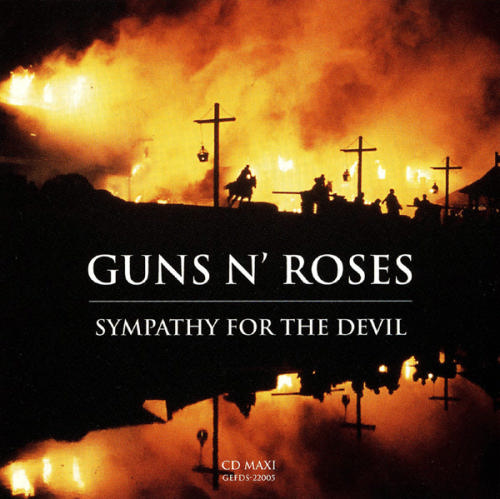 First Additional product image for - GUNS N' ROSES Sympathy For The Devil (1994) (GEFFEN RECORDS) (2 TRACKS) 320 Kbps MP3 MAXI-SINGLE